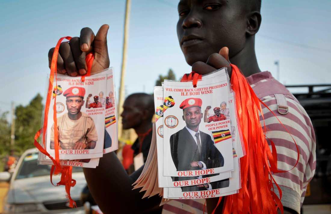 Bobi Wine har många hängivna anhängare, inte minst bland landets unga som hoppas på ett annat Uganda i framtiden.