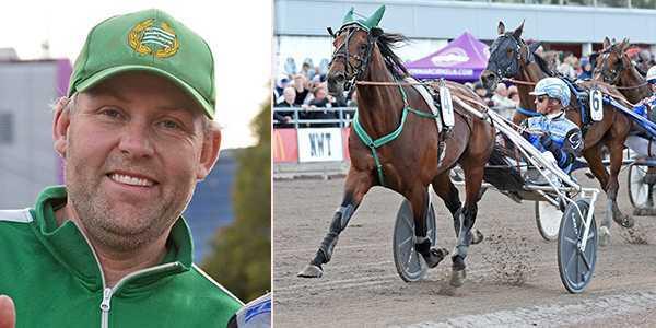 Ulf Stenströmer nobbar Elitloppet med Handsome Brad