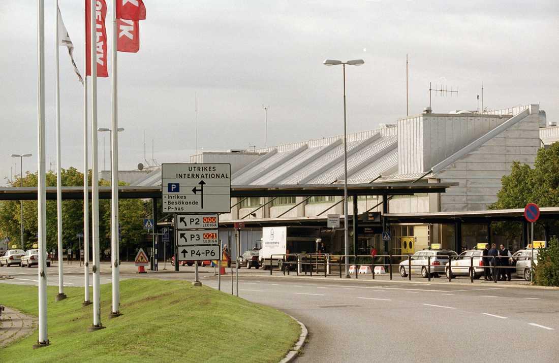 Landvetter flygplats i Göteborg.