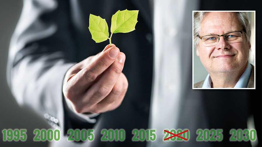Sveriges miljömål hade tidigare år 2020 som mål-år. Nu är det borttaget och något nytt verkar inte finnas. Och det är märkligt tyst om det, skriver Göran Finnveden.