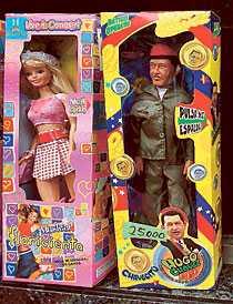 Chávez finns även att köpa som docka.