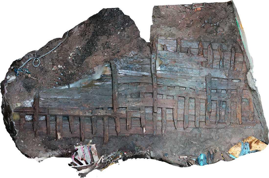 Efter att ha studerat virket och skeppets konstruktioner anser arkeologerna att skeppet troligtvis byggts i Hälsingland.