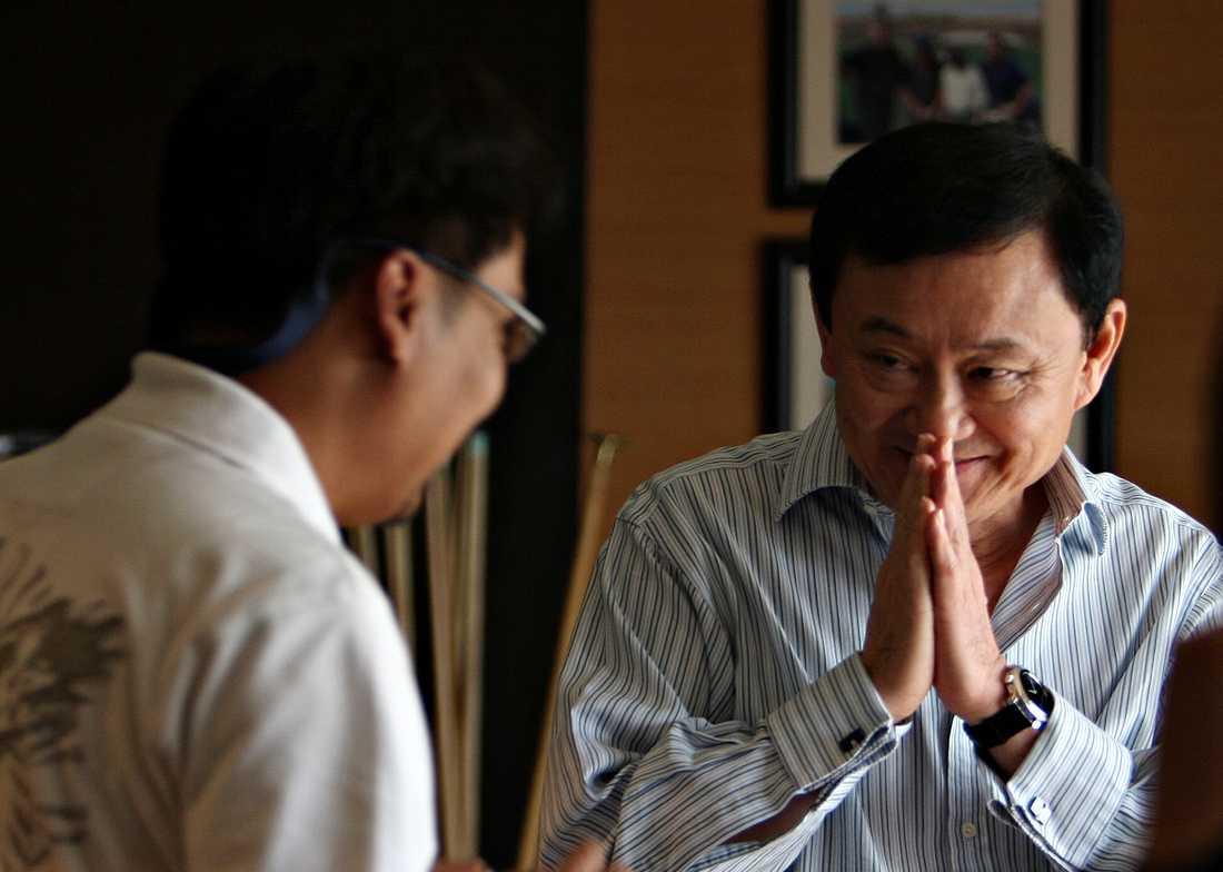 Thaksin Shinawatra.