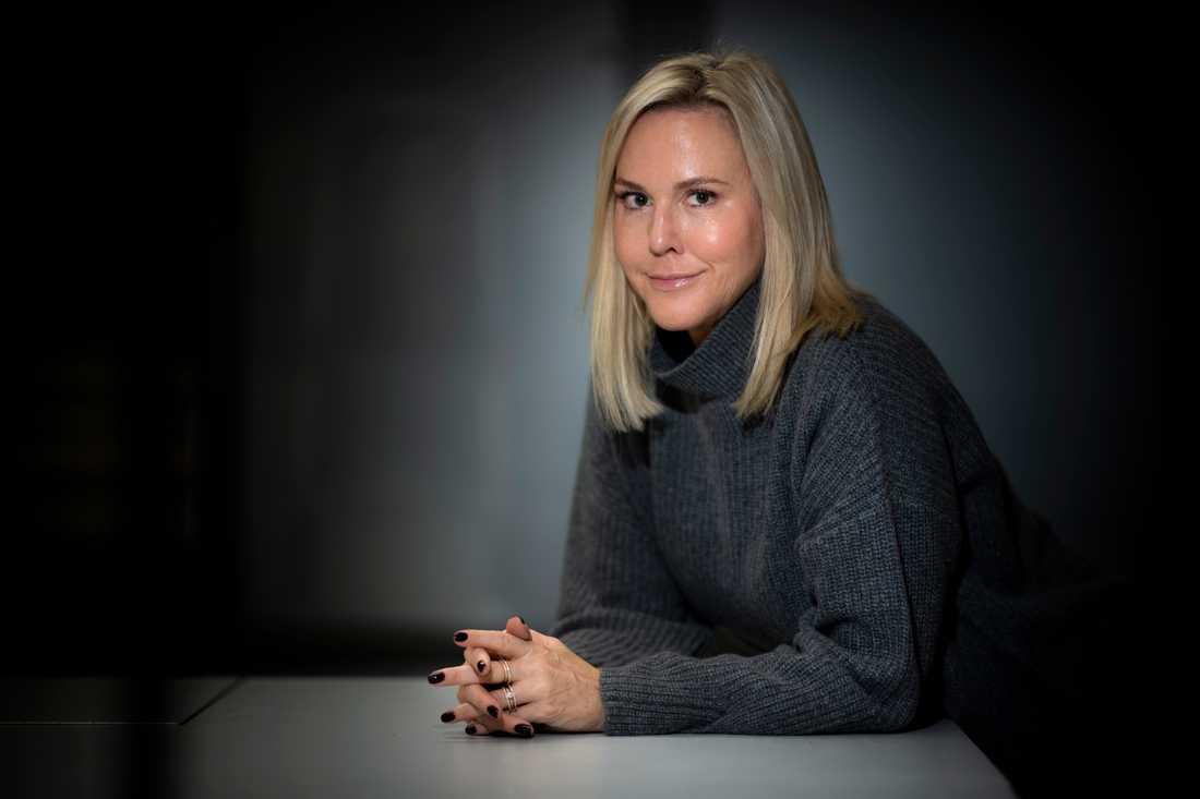 Camilla Grebe fördubblar sin Glasnyckelsamling. Arkivbild.
