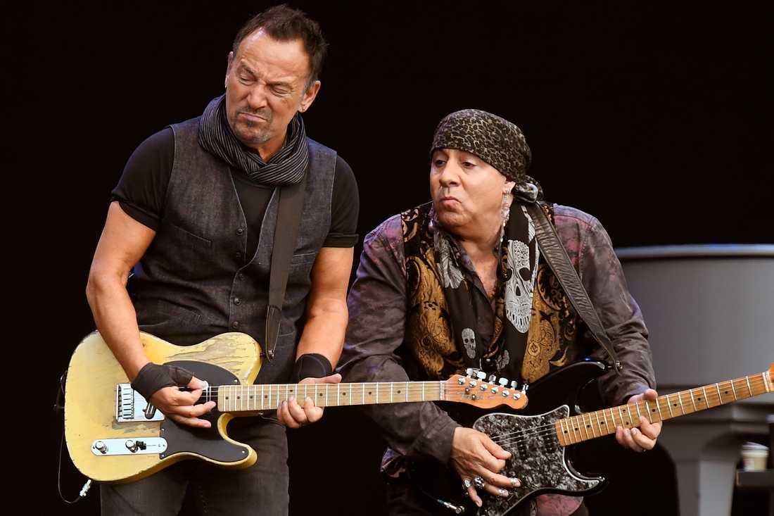 Bruce Springsteen och Little Steven.