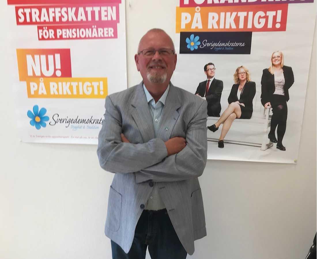 Helmut Petersén, Sverigedemokraterna.