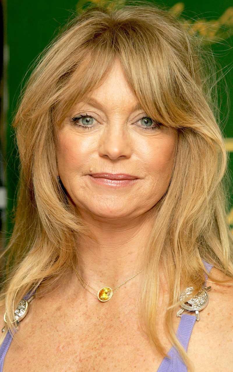 Amerikanska skådespelaren Goldie Hawn fanns bland Sai Babas anhängare.