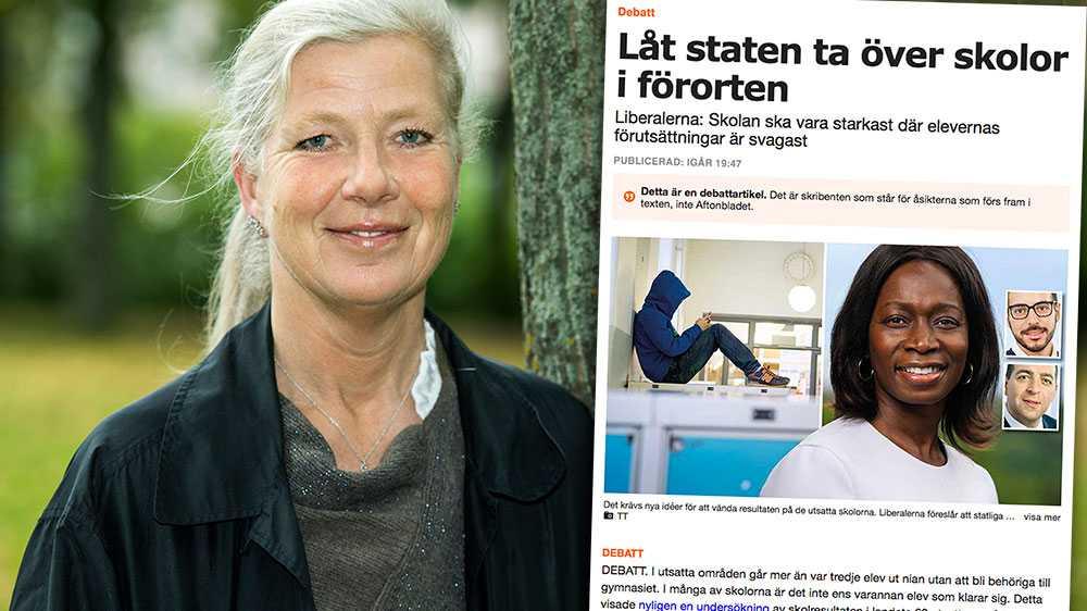 Sverige har många riktigt bra skolor. Det finns också skolor som fungerar riktigt dåligt. M står redo att rösta ja till allt som krävs för att vända dessa skolor. Men regeringen och L har inte lagt några sådana förslag på riksdagens bord. Vad hindrar er? undrar Kristina Axén Olin (M).