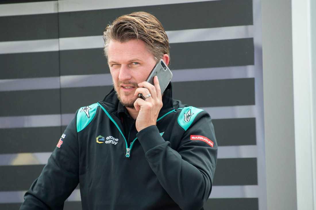 Johan Stigefelt, Team director för Petronas Yamaha Sepang Racing Team.