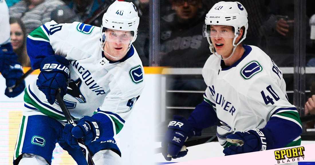 Elias Pettersson i Vancouver Canucks.