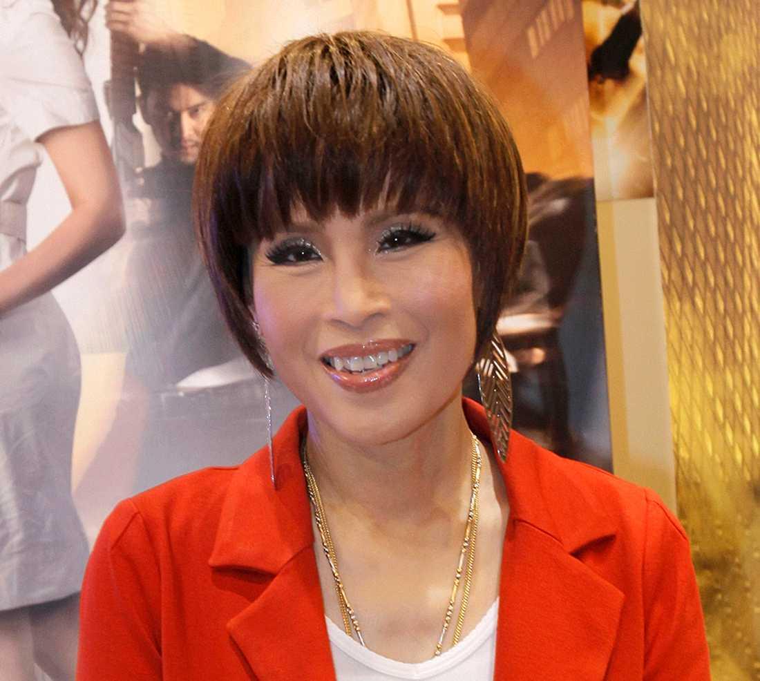 Prinsessan Ubolratana är ett känt ansikte i Thailand. Arkivbild.