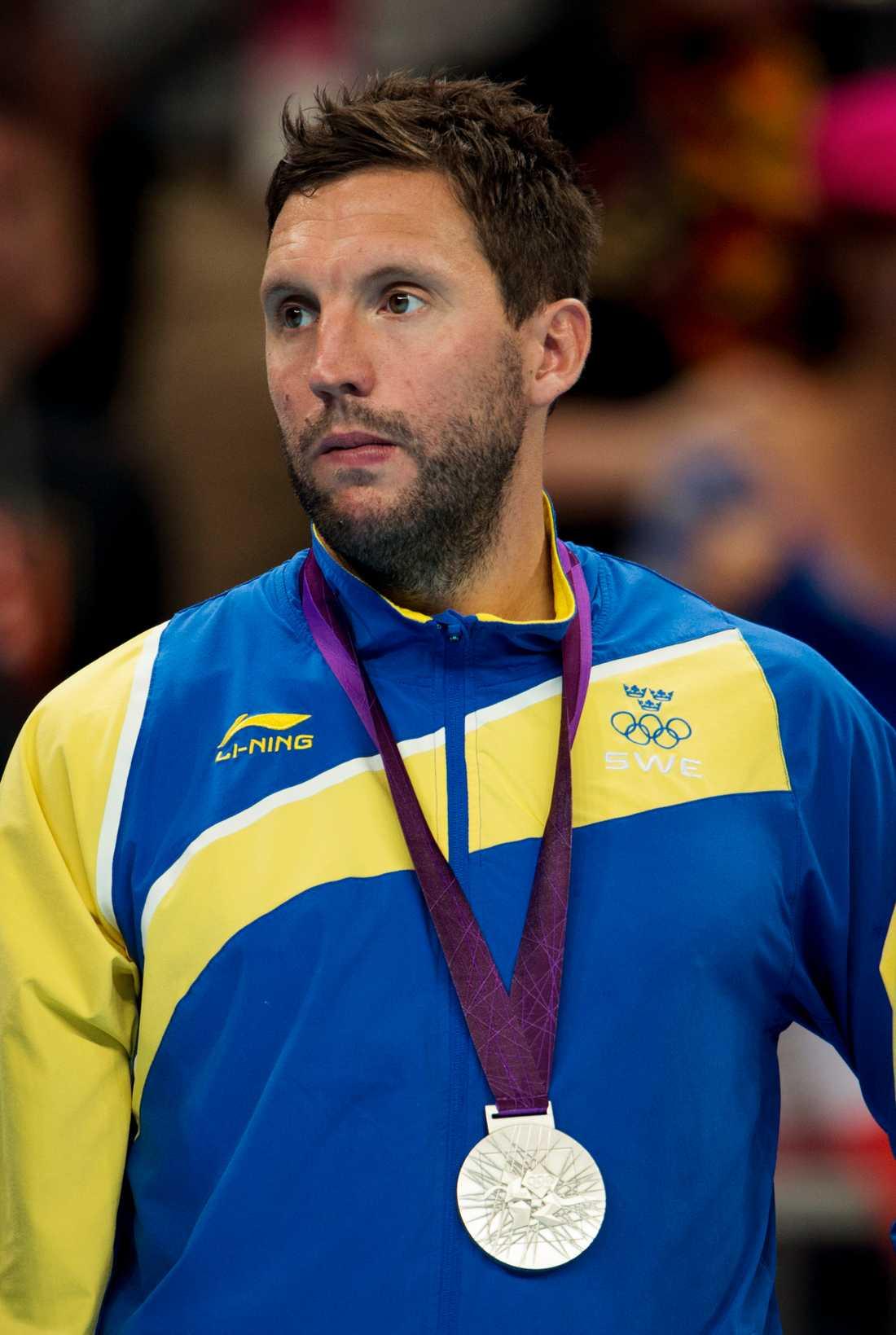 OS 2012 –silvermedalj för Sverige och Karlsson
