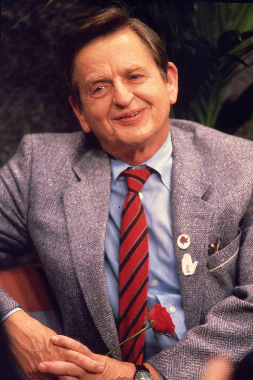 Olof Palme 1985.