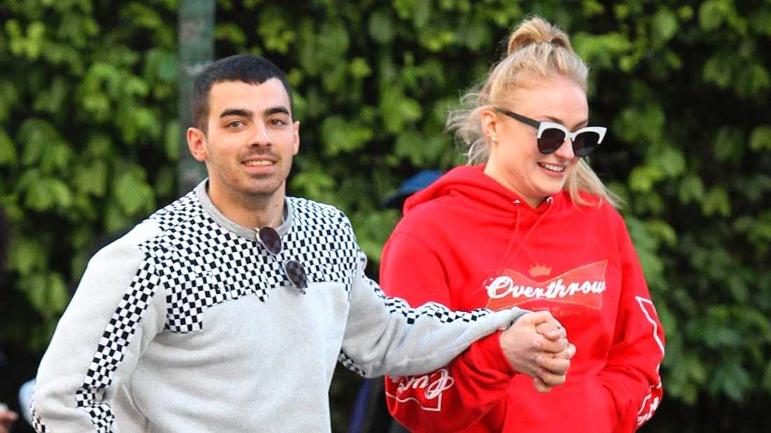 Joe Jonas och Sophie Turner.