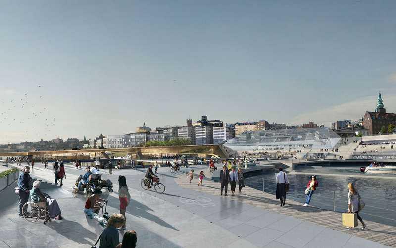 LÅNG TID KVAR Första spadtaget ska tas i sommar, men nya Slussen står inte klart förrän 2020.