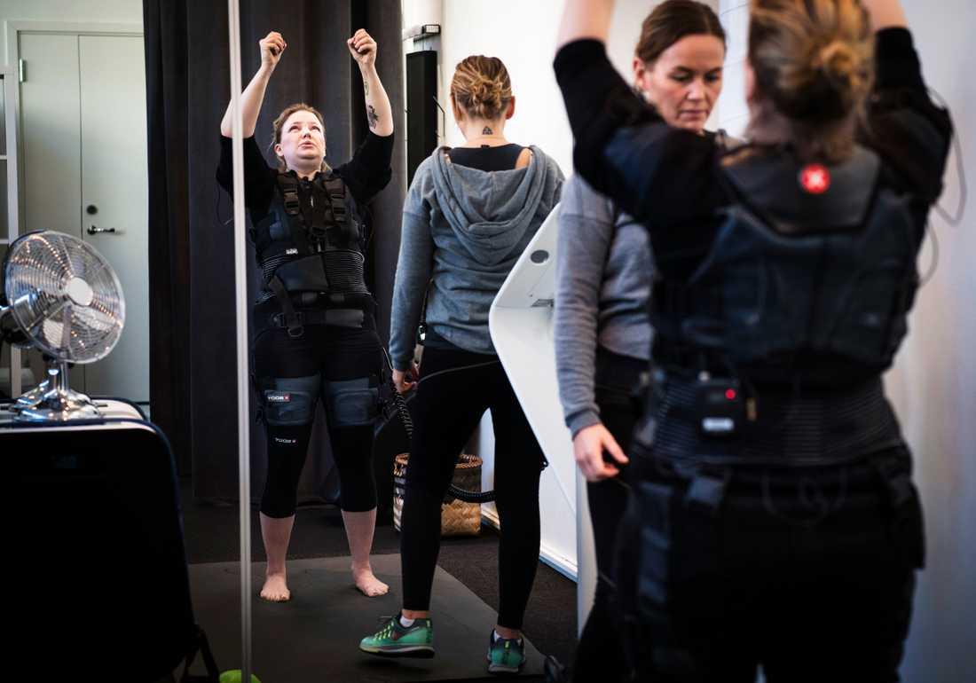 Jeanine efterlyste träningshjälp på Facebook och fick bland annat hjälp av ett gym.