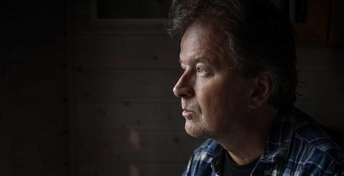 """Kjell Westö (f. −61), aktuell med romanen """"Tritonus""""."""