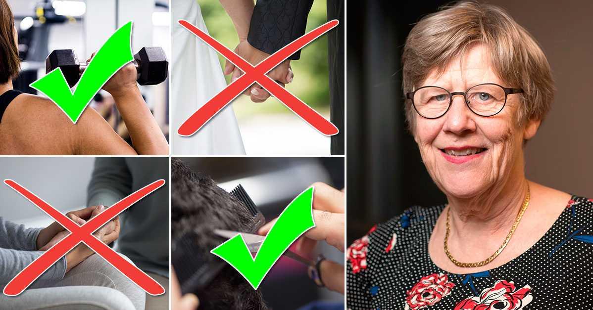 Vad skulle Agnes Wold göra? Expertens råd om 21 sociala situationer i coronatider