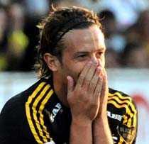 DRÖMMÅL Jorge Anchén fick chansen i AIK - och tog den verkligen.