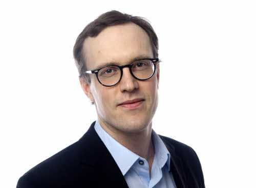 Andreas Cervenka. Ekonomiskribent i Svenska Dagbladet