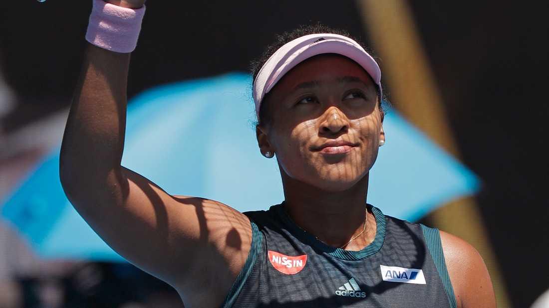 Naomi Osaka är klar för semifinal i Australian Open.