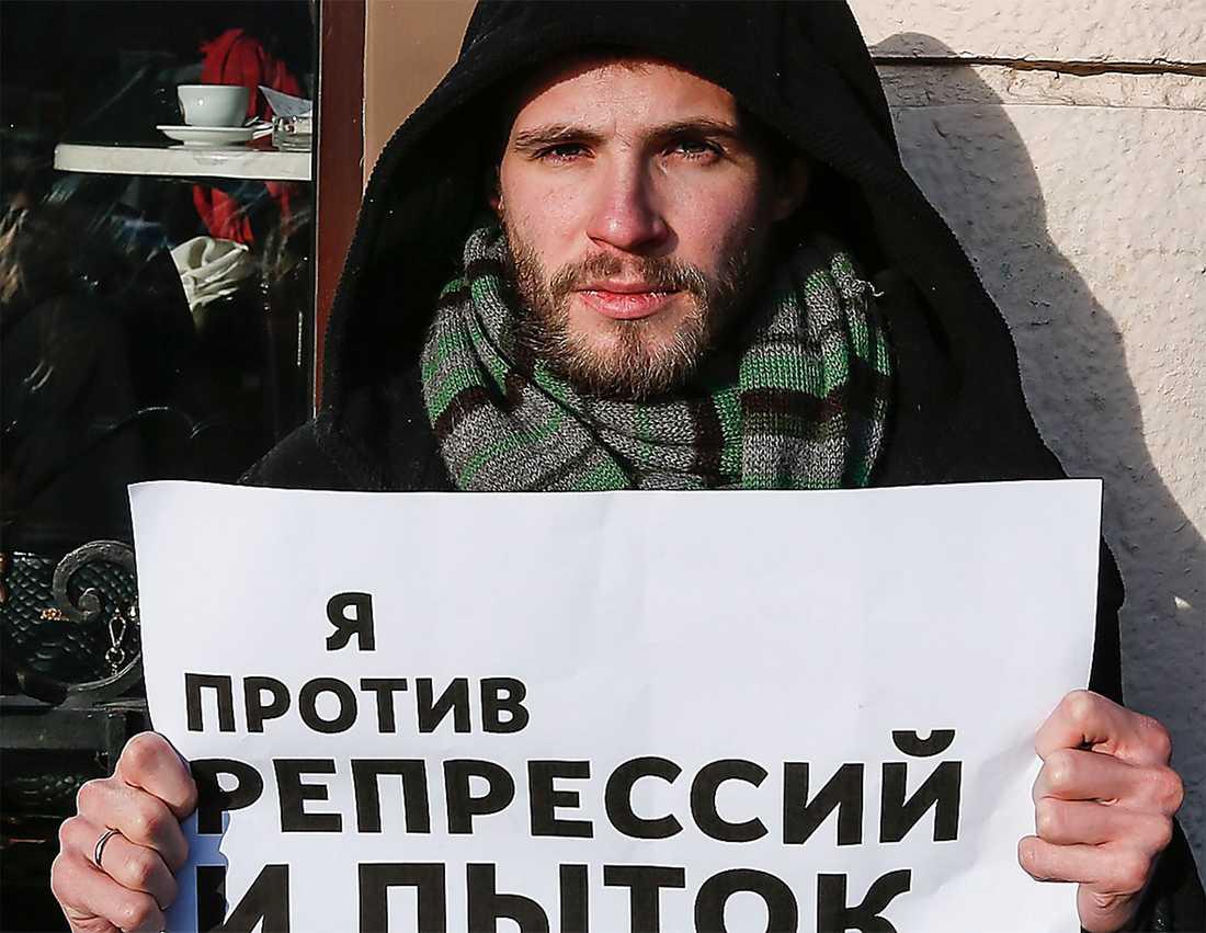Filipp Dzyadko, en av många fritänkande journalister som sparkats av regimvänliga oligarker eller statliga bolag. Foto: AP