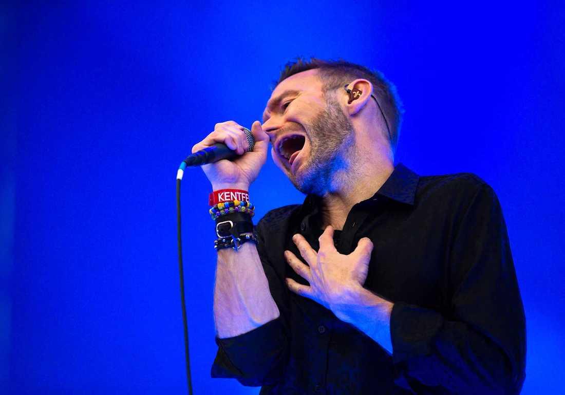 Jocke Berg, sångare i Kent.