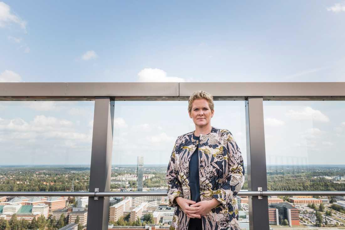 Oppositionsborgarrådet Karin Wanngård (S).