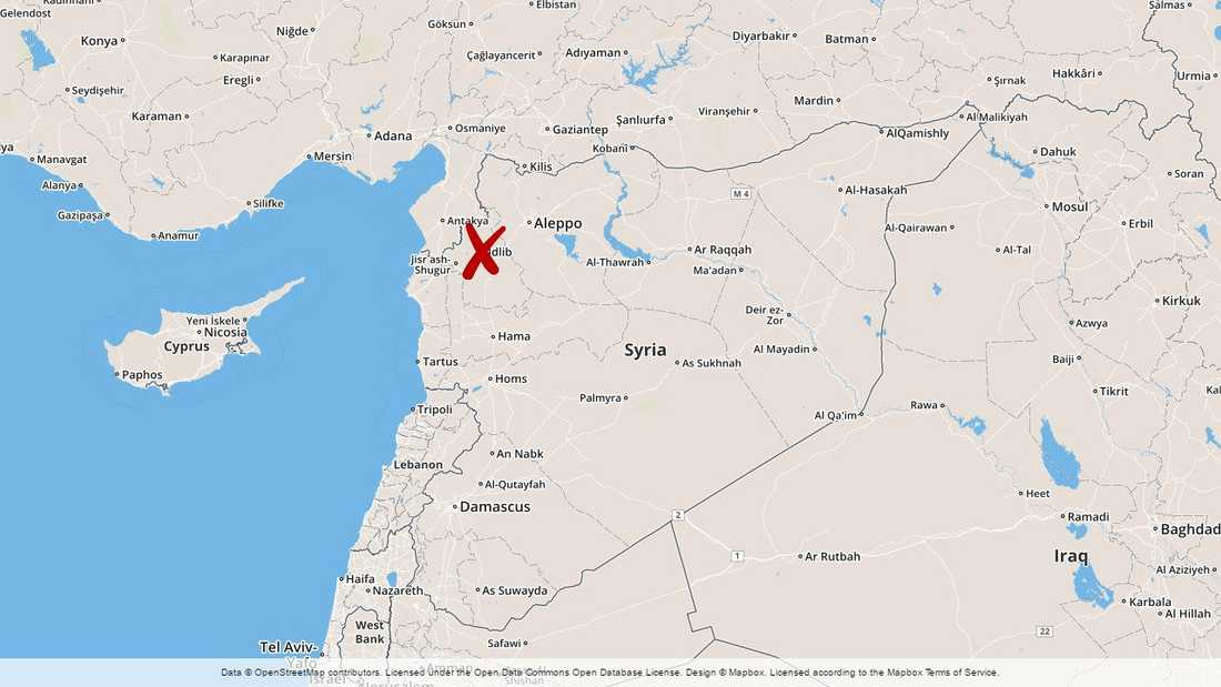 Över 100 personer har dödats i strider i den syriska provinsen Idlib.
