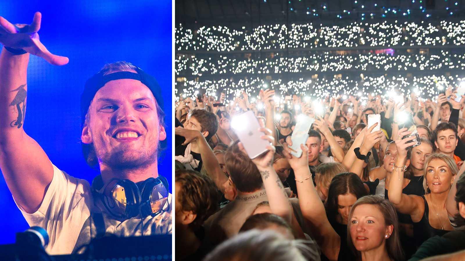 Hyllningskonsert till Avicii slår publikrekord
