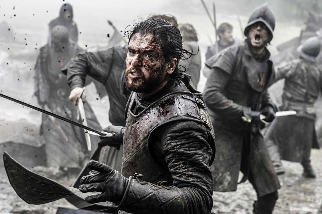 """Skaparen av """"Game of thrones"""" har inte tid att titta på tv-serien."""
