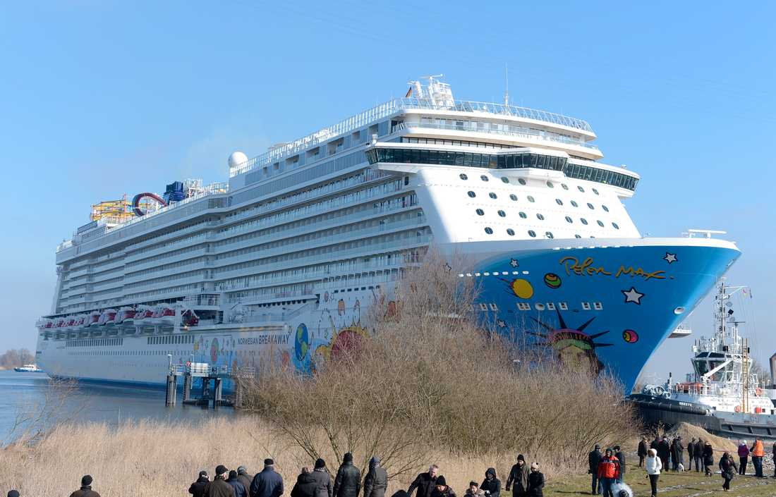 NORWEGIAN BREAKAWAY Norwegian Cruise Lines senaste fartyg har premiär den 28 april.