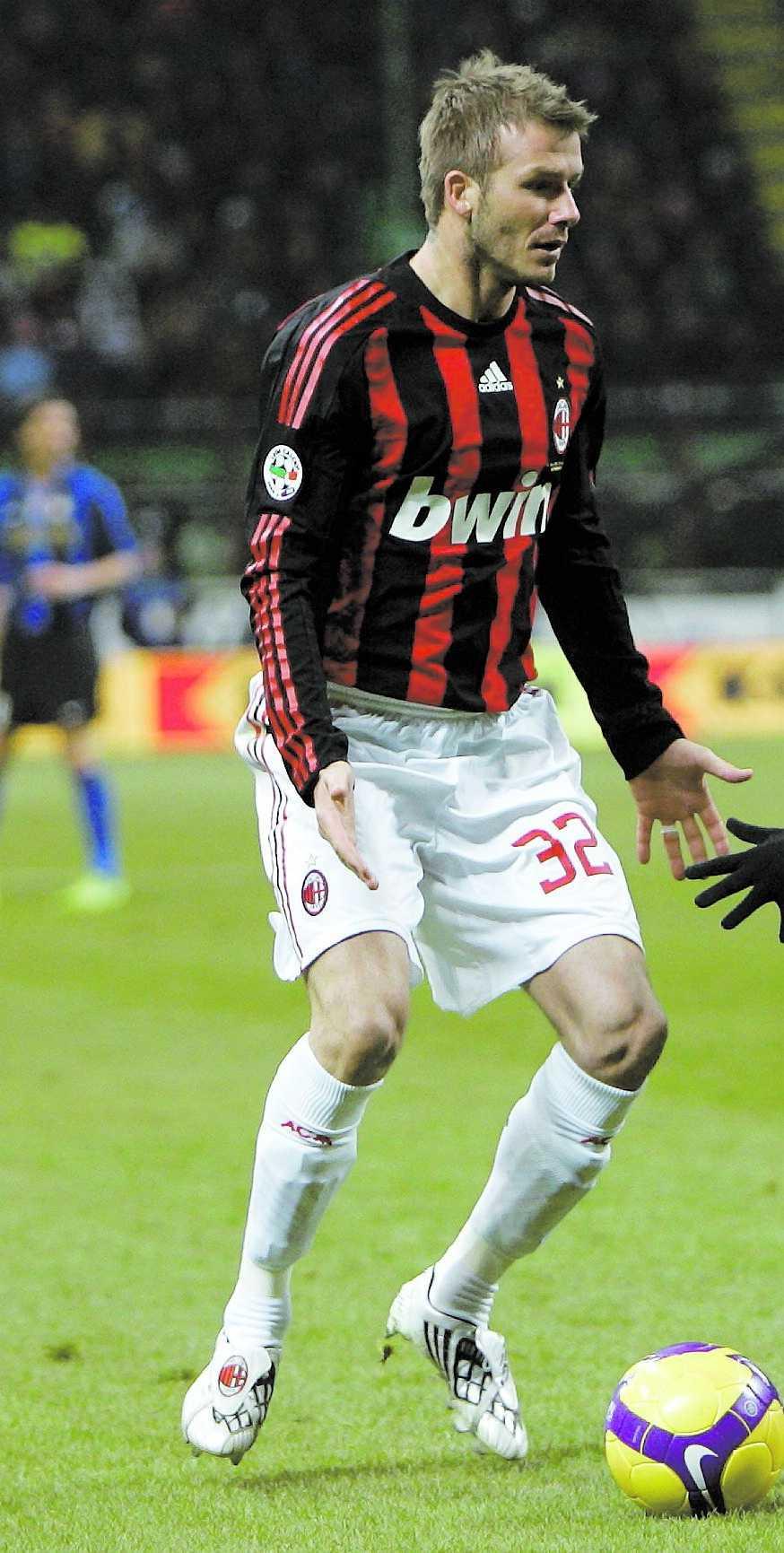 Beckham spelade derby i söndags.