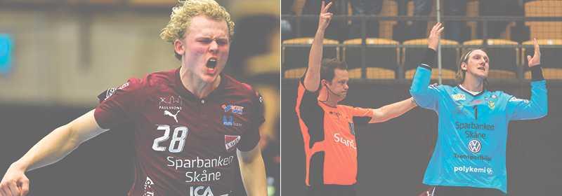 Anders Persson (till höger) var inte nöjd med domaren.
