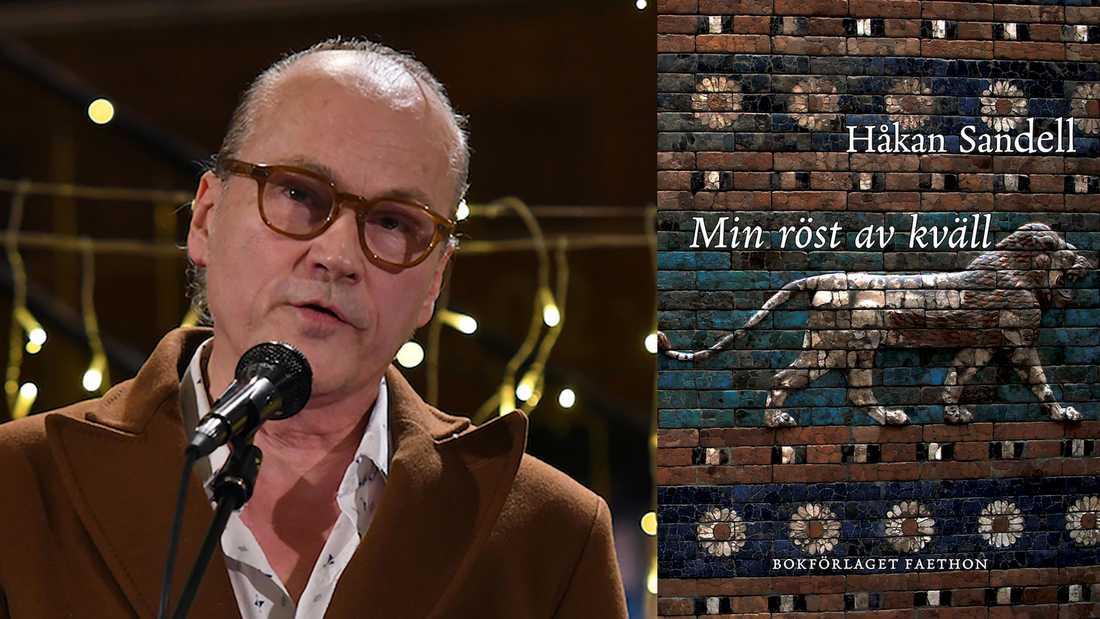 """Håkan Sandell (född 1962) utkom nyligen med verseposet """"Min röst av kväll""""."""