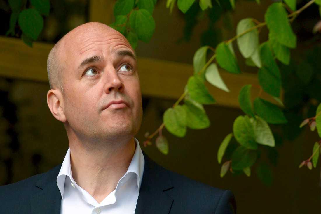 """Fredrik Reinfeldt har släppt sin nya bok """"Nya livet""""."""