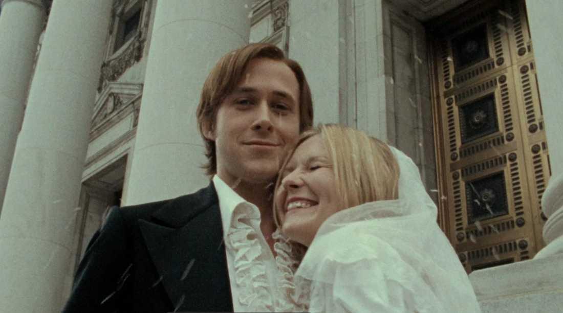 """Ryan Gosling och Kirsten Dunst i """"All good things""""."""