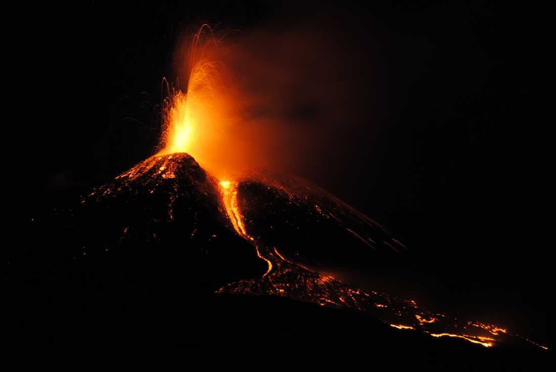 Forskare i Danmark har slagit fast att ett vulkanutbrott i Alaska 43 år före Kristus orsakade det kalla klimat som bidrog till romarrikets fall. Arkivbild.