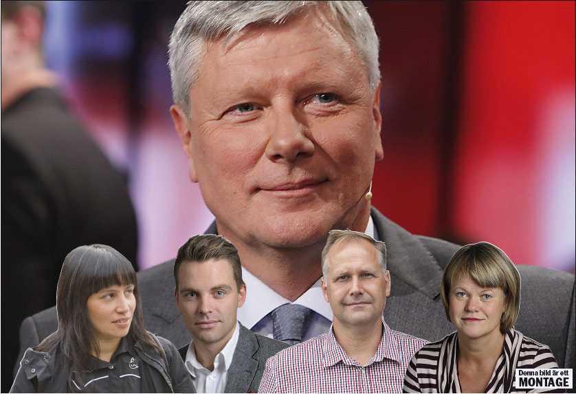 ur Ohlys skugga  Rossana Dinamarca, Hans Linde, Jonas Sjöstedt och Ulla Andersson är de fyra huvudkandidaterna som vill ta över partiledarrollen efter Lars Ohly i Vänsterpartiet.