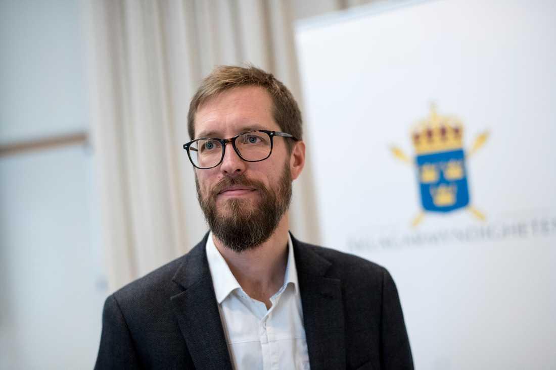 """""""Jag delar inte tingsrättens bedömning. Med stor sannolikhet kommer jag att överklaga domen"""", säger kammaråklagare Jonas Martinsson. Arkivbild."""