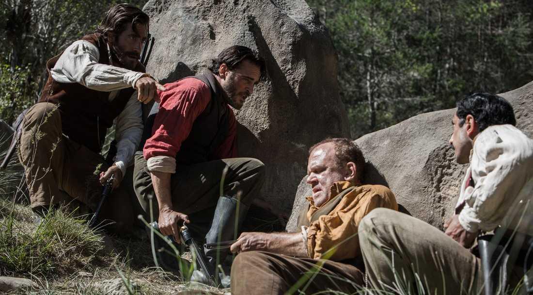 Jake Gyllenhaal, Joaquin Phoenix, John C Reilly och Riz Ahmed.