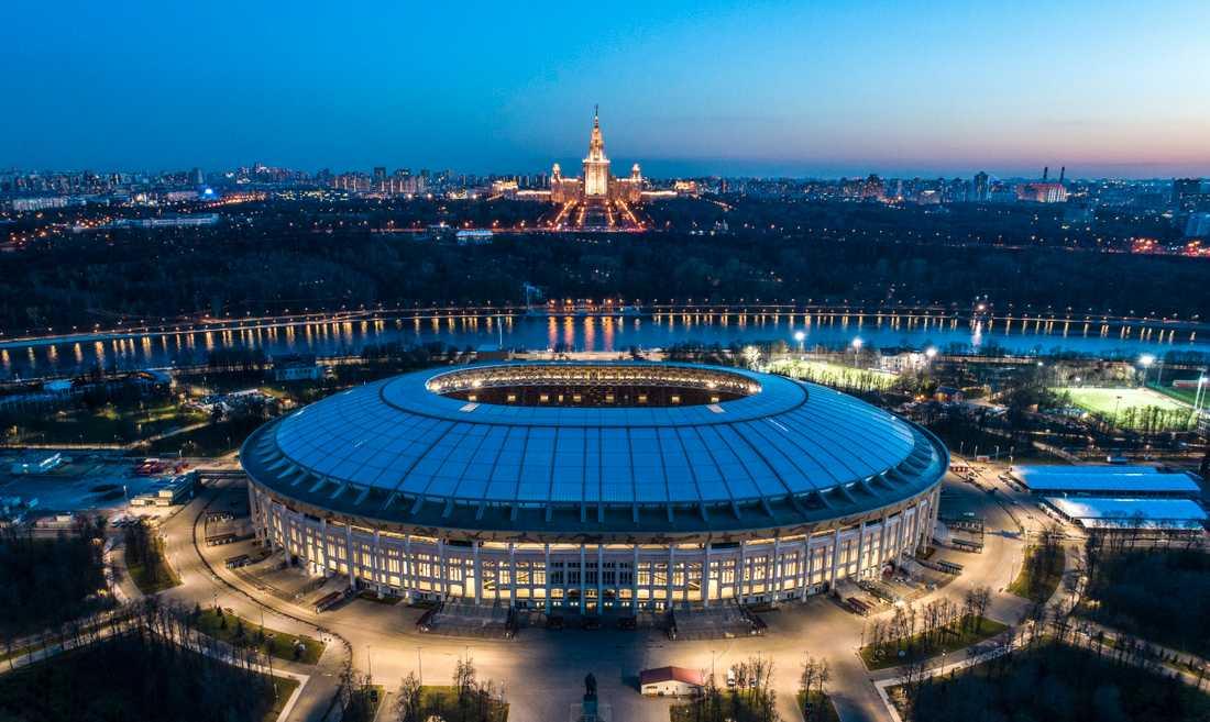 I dag sparkas fotbolls-VM igång på Luzjnikistadion i Mosvka.