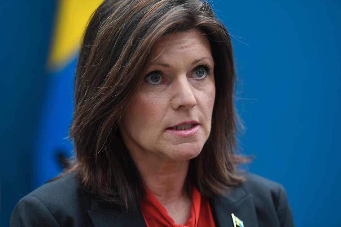 Eva Nordmark, arbetsmarknadsminister (S).