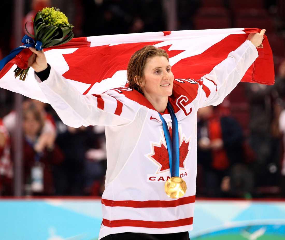 Hayley Wickenheiser i OS 2010