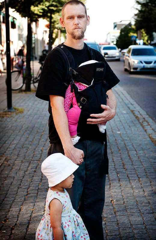 Michael Goldschmidt blev tillsammans med familjen avslängd när hans tvååriga dotter var ledsen och skrek.