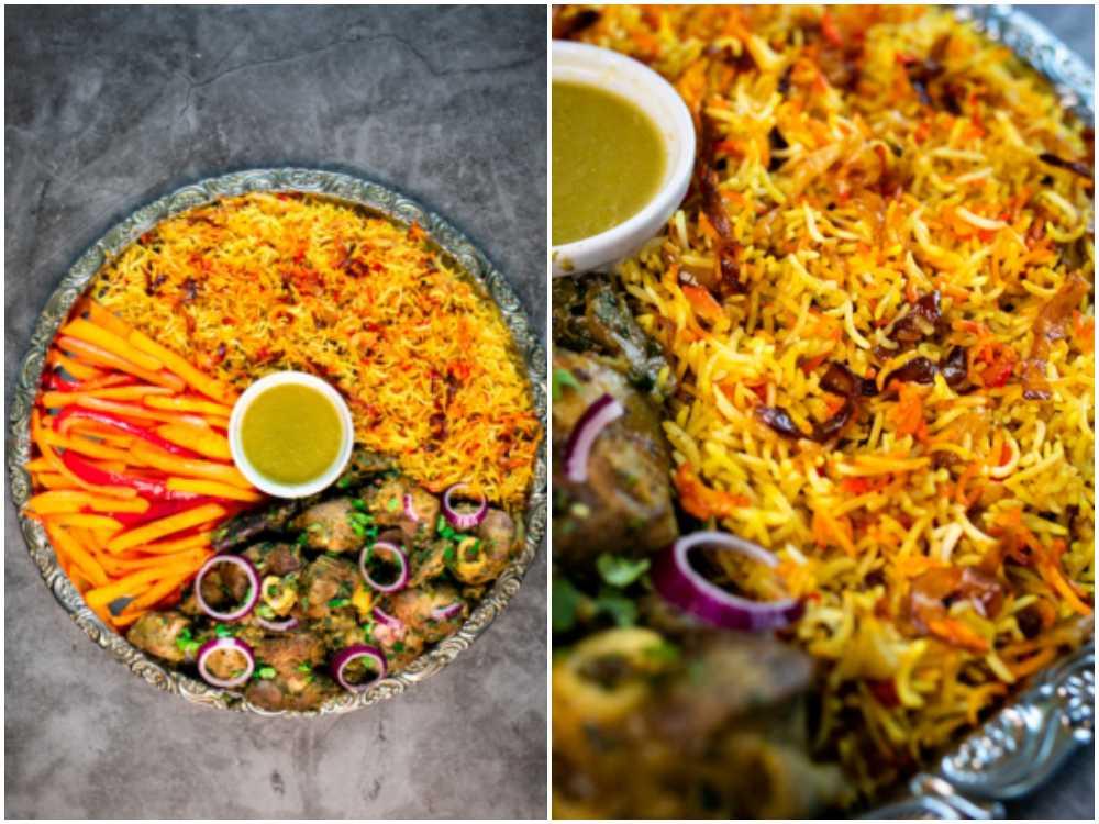 Bariis iyo hilib är en risrätt som är populär till bröllop och fest.