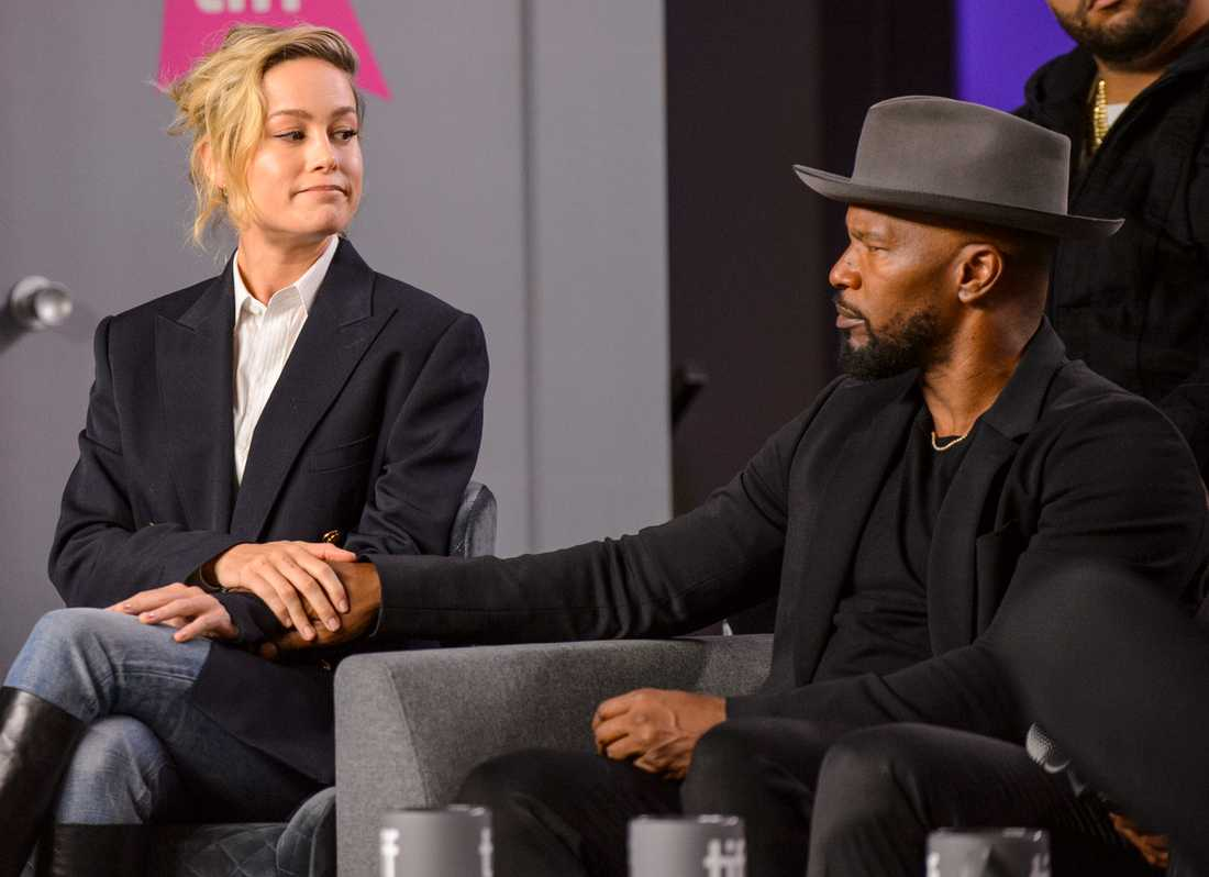 """Jamie Foxx och Brie Larson medverkar i nya dramat """"Just mercy""""."""