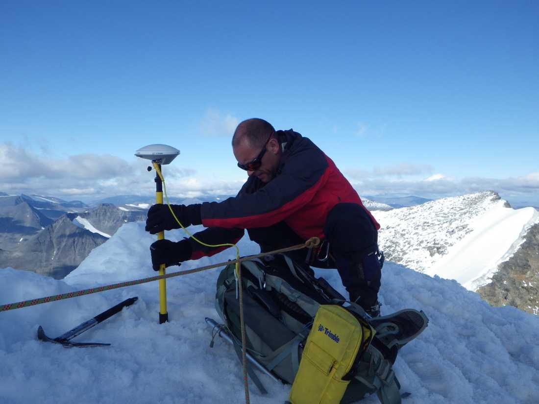 Vilken av Kebnekaises toppar som är högst har varit omdiskuterat de senaste åren. Nu har nya mätningar gjorts som visar att nordtoppen har tagit över som Sveriges högsta punkt. Arkivbild.