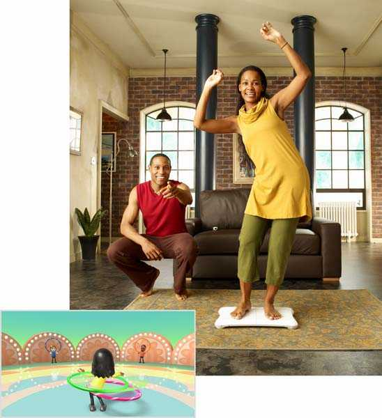 Wii fitness Simulator (Wii)