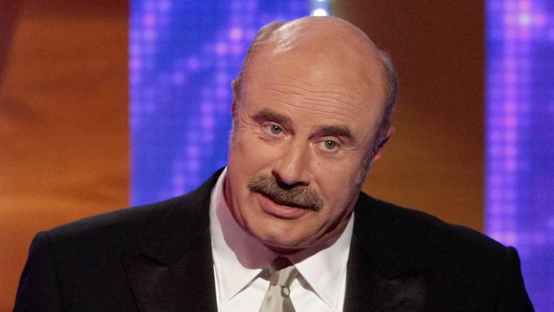 "Phil McGraw har blivit stenrik på tv-karriären i ""Dr Phil""."